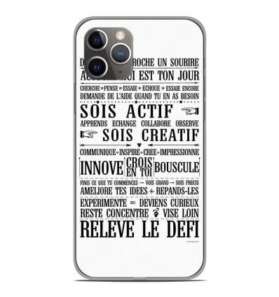 Coque en silicone Apple iPhone 11 Pro - Citation 11
