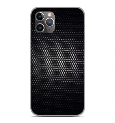 Coque en silicone Apple iPhone 11 Pro - Dark Metal