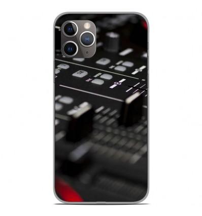 Coque en silicone Apple iPhone 11 Pro - Dj Mixer