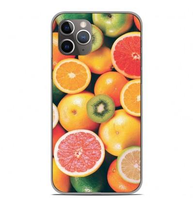 Coque en silicone Apple iPhone 11 Pro - Fruits