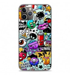 Coque en silicone Apple iPhone 11 Pro - Graffiti 2