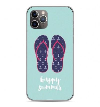 Coque en silicone Apple iPhone 11 Pro - Happy summer