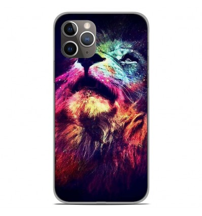 Coque en silicone Apple iPhone 11 Pro - Lion swag