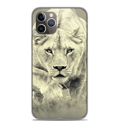 Coque en silicone Apple iPhone 11 Pro - Lionne