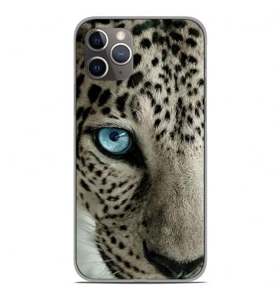 Coque en silicone Apple iPhone 11 Pro - Oeil de léopard