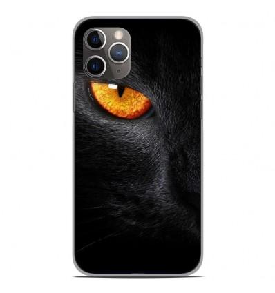 Coque en silicone Apple iPhone 11 Pro - Oeil de Panterre