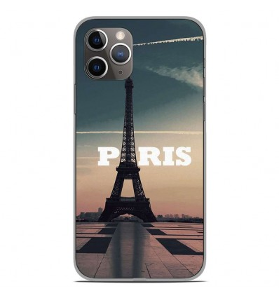Coque en silicone Apple iPhone 11 Pro - Paris