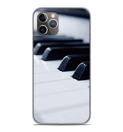 Coque en silicone Apple iPhone 11 Pro - Piano