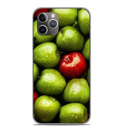 Coque en silicone Apple iPhone 11 Pro - Pommes