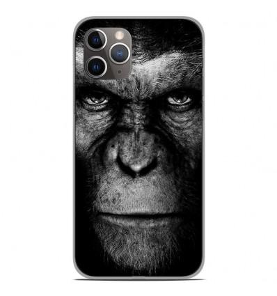 Coque en silicone Apple iPhone 11 Pro - Singe