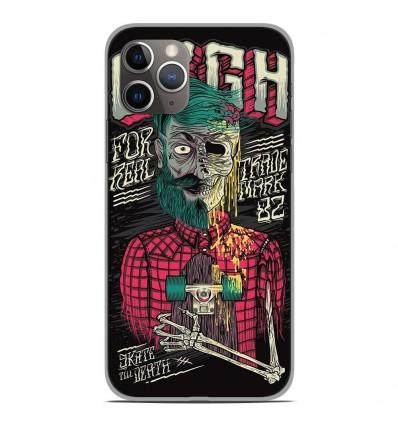 Coque en silicone Apple iPhone 11 Pro - Skull Urgh