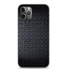 Coque en silicone Apple iPhone 11 Pro - Texture metal
