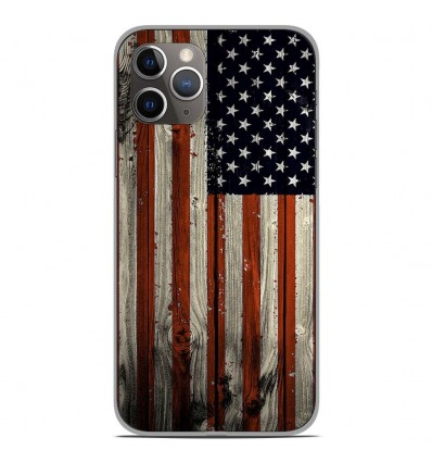 Coque en silicone Apple iPhone 11 Pro - USA Hood