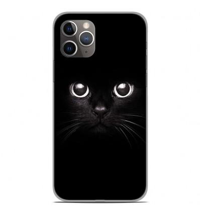 Coque en silicone Apple iPhone 11 Pro - Yeux de chat
