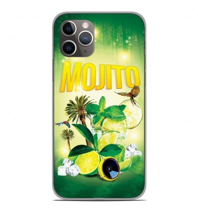 Coque en silicone Apple iPhone 11 Pro - Mojito Forêt