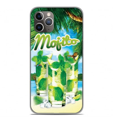 Coque en silicone Apple iPhone 11 Pro - Mojito Plage
