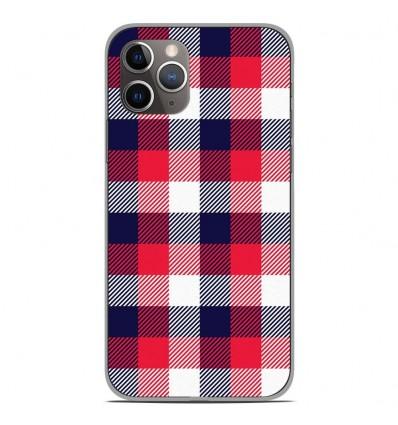 Coque en silicone Apple iPhone 11 Pro - Tartan Tricolor