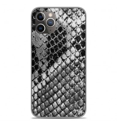 Coque en silicone Apple iPhone 11 Pro - Texture Python