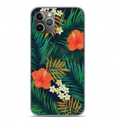 Coque en silicone Apple iPhone 11 Pro - Tropical
