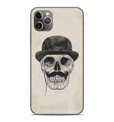Coque en silicone Apple iPhone 11 Pro Max - BS Class skull
