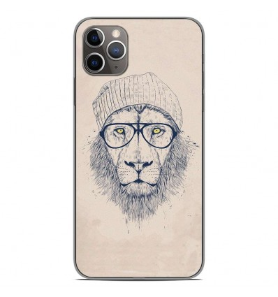 Coque en silicone Apple iPhone 11 Pro Max - BS Cool Lion