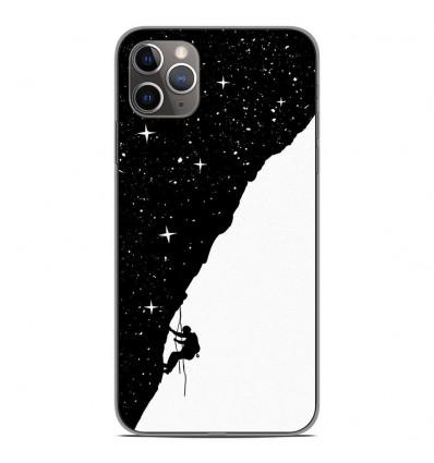 Coque en silicone Apple iPhone 11 Pro Max - BS Nightclimbing