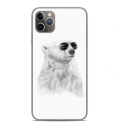 Coque en silicone Apple iPhone 11 Pro Max - BS Sunny bear