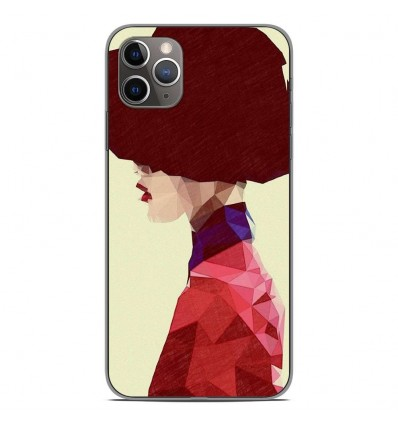 Coque en silicone Apple iPhone 11 Pro Max - ML Chic Hat