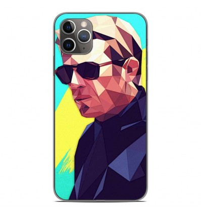 Coque en silicone Apple iPhone 11 Pro Max - ML King of Cool