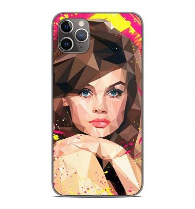 Coque en silicone Apple iPhone 11 Pro Max - ML Vogue Muse