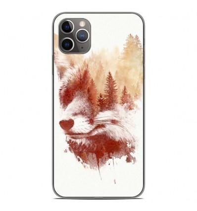 Coque en silicone Apple iPhone 11 Pro Max - RF Blind Fox