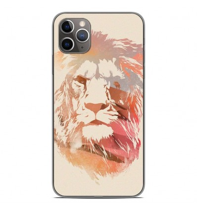 Coque en silicone Apple iPhone 11 Pro Max - RF Desert Lion