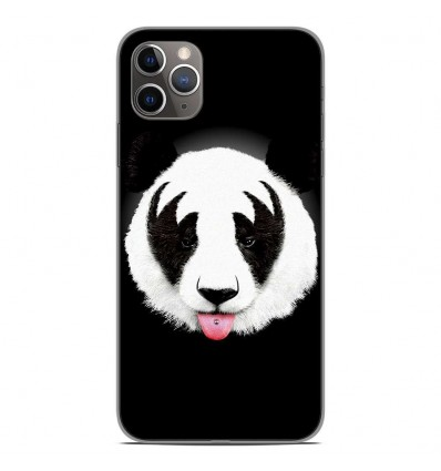 Coque en silicone Apple iPhone 11 Pro Max - RF Kiss Of Panda