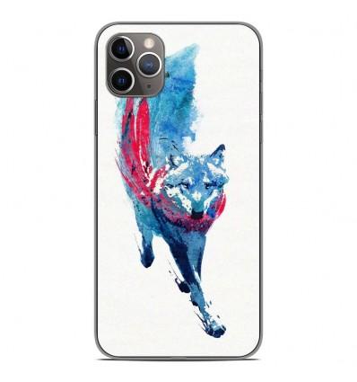 Coque en silicone Apple iPhone 11 Pro Max - RF Lupus Lupus