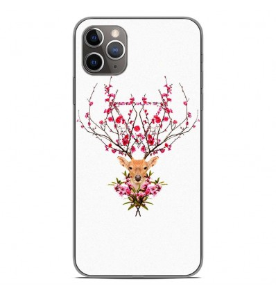Coque en silicone Apple iPhone 11 Pro Max - RF Spring deer