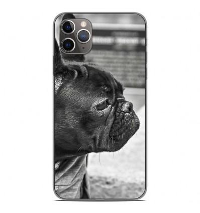 Coque en silicone Apple iPhone 11 Pro Max - Bulldog