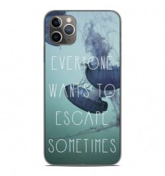 Coque en silicone Apple iPhone 11 Pro Max - Escape