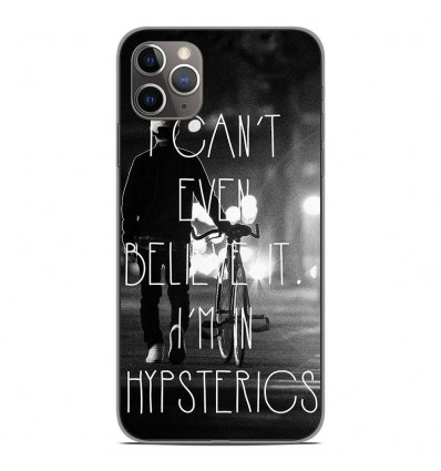 Coque en silicone Apple iPhone 11 Pro Max - Hipsterics
