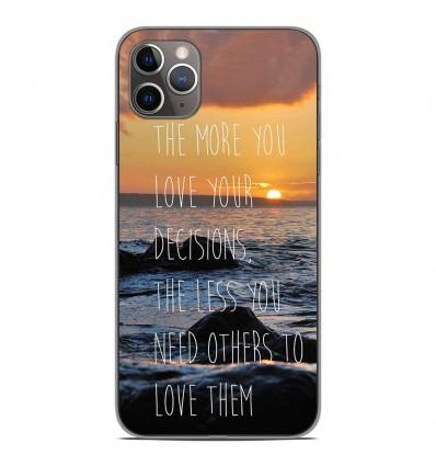 Coque en silicone Apple iPhone 11 Pro Max - Sunshine