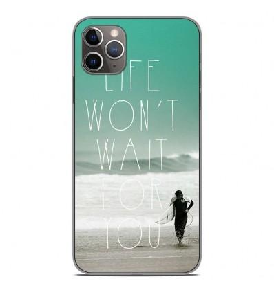Coque en silicone Apple iPhone 11 Pro Max - Surfer