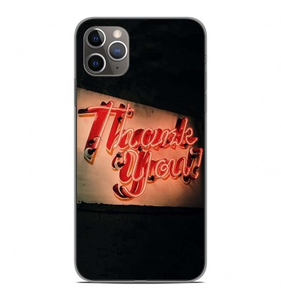Coque en silicone Apple iPhone 11 Pro Max - Thank You