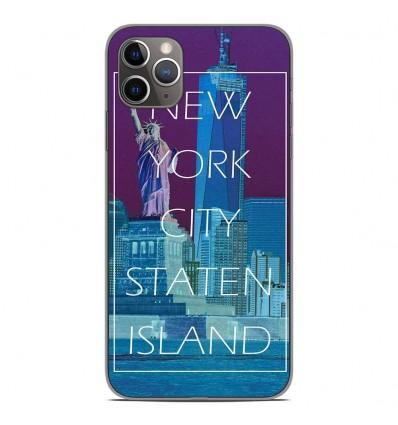 Coque en silicone Apple iPhone 11 Pro Max - New york