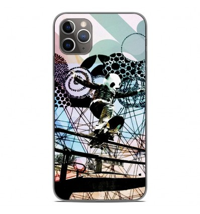 Coque en silicone Apple iPhone 11 Pro Max - Panda skater