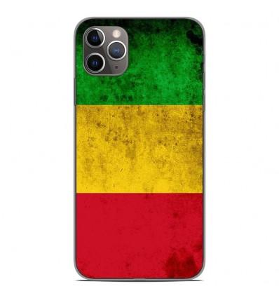 Coque en silicone Apple iPhone 11 Pro Max - Drapeau Mali
