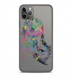 Coque en silicone Apple iPhone 11 Pro Max - Dreamcatcher Gris