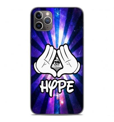 Coque en silicone Apple iPhone 11 Pro Max - Hype Illuminati