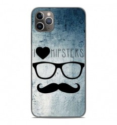 Coque en silicone Apple iPhone 11 Pro Max - I Love Hipster