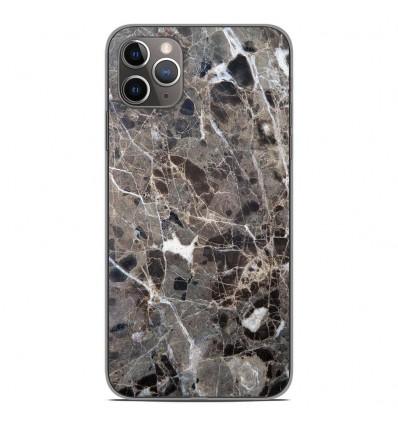 Coque en silicone Apple iPhone 11 Pro Max - Marbre