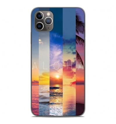 Coque en silicone Apple iPhone 11 Pro Max - Aloha