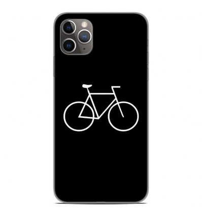 Coque en silicone Apple iPhone 11 Pro Max - Bike Hipster